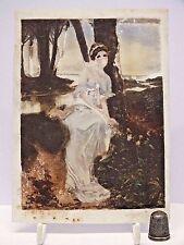 Rare White Glass Coloured Photographic Plate (Negative?) c1890-1920 - (No.2)