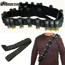 50 Round Shotgun 12 20 Gauge Ammo Bandolier Shell Holder Sling for Mossberg 500