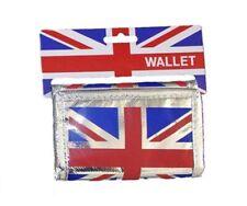 Porte Monnaie Union Jack - Argenté - Drapeau Anglais - Portefeuille - Londres