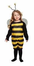 BEE TODDLER BUMBLE BEE GIRLS BOYS FANCY DRESS CHILDREN PARTY WINGS COSTUME  2-4