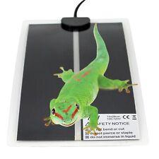 Estera de calor 7W 15x28 cm Reptile Incubadora Incubadora Pet CALEFACTOR CALEFACCION Pad Enchufe EE. UU.