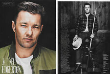 Joel Edgerton 2 page GQ Magazine Article/Clipping Dec 2016