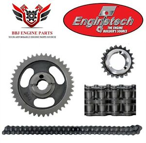 Ford 302 351 351w Windsor 1984 - 2001 Enginetech Double Row Timing Chain Set