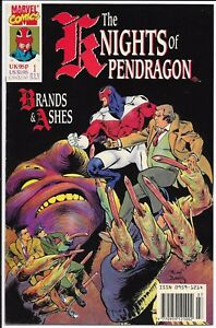 Marvel Comics - The Knights of Pendragon - #1 July 1990