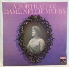 DAME NELLIE MELBA - vintage vinyl LP - A Portrait Of Dame Nellie Melba