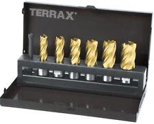 Ruko Terrax HSS-TiN Kernbohrer Satz 7-tlg. 12 - 22 mm, Weldonschaft, in Kassette