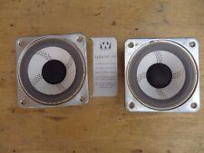 New listing 2 Vintage Wharfdale Glendale 3Xp 5 Inch Midrange Speakers