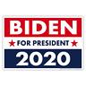 "Political Campaign Yard Sign w/Stake - Joe Biden 2020 - Double-Sided, 18"" x 12"""