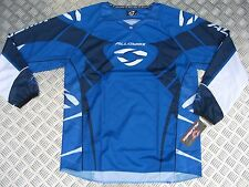 Joven / Niños Alloy 06 Viper Motocross MX Jersey Azul Cuatrimoto Carreras Shirt