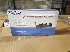 HighPoint RocketRAID 2320 PCIe x4 SATA II 3Gb/s 8 Channel Raid Controller Card