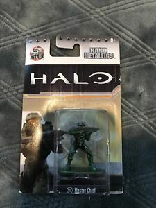 Jada Nano Metalfigs Halo MS2 Master Chief Diecast Metal New Sealed
