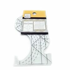 Small Quilters Groove Pro Spine Plastic Ruler Embroidery Sewing Machine Tools
