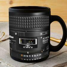 Photographer Detail Lens Mug, Black Coffee Mug 11 oz