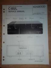 Kenwood Service Manual~C-B5/B5L Amplifier/Tuner~Original~Repair