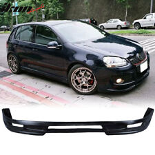 Poly Urethane Type A PU Front Bumper Lip Spoiler For 06-09 VW Golf GTI MK5 Jetta