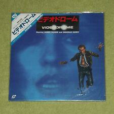 VIDEODROME [1982/Debbie Harry] - RARE 1985 JAPAN NEW/SEALED LASERDISC + OBI