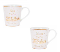 Mothers Day Gift I Love You Mug World's Best Mum Gran Nan Birthday Present New