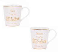 Mothers Day Gift I Love You Mug World's Best Mum Gran Nan Birthday Present New
