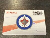 2017 NHL 30 WINIPEG JETS (FD59158) Tim Hortons collectors gift card 398
