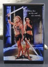"""The Arena"" Karen McDougal & Lisa Dergan Pinup - 2"" X 3"" Fridge Magnet. GGA"