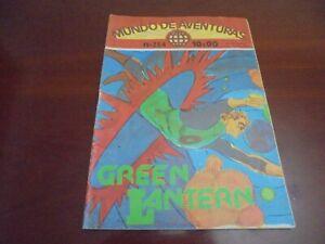 Green Lantern Portuguese comics magazine year 1977 Mundo de Aventuras # 204