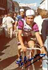 Didier Lebaud Mercier MIKO Signed Autographe cycling Signé cyclisme autogramm