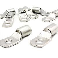 10 Pièce Cosses Tubulaires 50mm ² M8 Kabelschuh non Isolé SC50-8