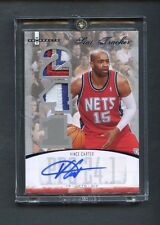 2007-08 Vince Carter Hoops Stat Tracker Patch AUTO #2/5