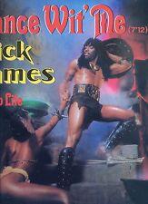 RICK JAMES dance wit me FRANCE 1982 EX 12INCH