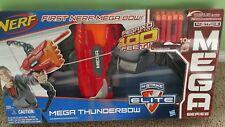 New Nerf-Mega Thunderbow-Blaster-N-Strike-Elite-Fires-up-to-100-feet