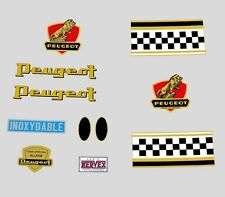 Peugeot 1960s Bicycle Frame Stickers - Decals - Transfers n.140