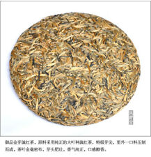 357g,Yunnan Gold bud Leaf Dian Hong BLACK TEA Cake,DIANHONG,schwarzer roter tee