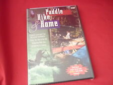 Paddle, Hike  Home (DVD, 1998) camping  outdoors new sealed