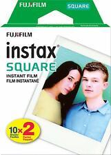 Fujifilm Instax Square Instant Film Twin Pack - 20 Exposures
