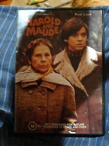 Harold And Maude (DVD, 2003) very rare, oop, like new, mint, Aussie copy,pal, R4