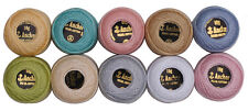 Pastel Colors Anchor Crochet Cotton Balls ( Pack of 10 Balls )