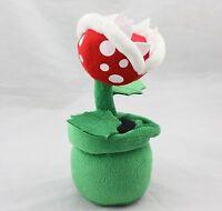 "8.5"" Super Mario Piranha Plant Plush Doll Decoration Flower Toy Xmas Great Gift"