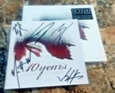 SIGNED 10 Years (how to live) As Ghosts Autographed Signed cd