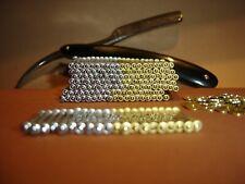 Rasiermesser Nieten, Reparatur-Set (Pins für Rasiermessergriffe)** Ø 1,4 mm **