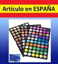 SET MAQUILLAJE profesional 180 colores de sobra de ojos pinturas mate y brillo