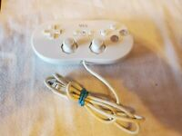 Classic Controller Gamepad Joystick for Nintendo Wii Video Game Console RVL-005