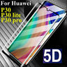 Huawei P30 P20 Mate 20 Lite Pro 5D  Full Tempered Glass Screen Protector