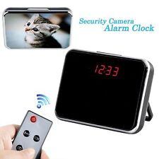 Digital Wide Angle Clock DVR Cam Camera Spy Covert Hidden Surveillance Nanny cam