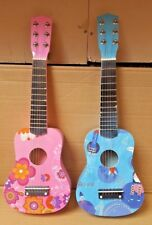 """NEW 21"""" CHILDREN'S KIDS WOODEN ACOUSTIC GUITAR MUSICAL INSTRUMENT CHILD TOY"""