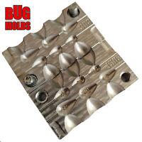 Fishing Sinker Mold  Aluminium Fishing Mold Lure making Lead Molds Drop Lead