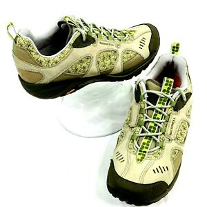 Merrell Siren Nitro Olive/Lime Women's Size 11 Hiking Shoes Air Cushion
