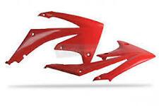 Ouies de radiateur rouge POLISPORT HONDA  CRF 250 2010-13  CRF 450  2009-12