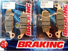 KAWASAKI ER6N ABS 650 2012 12 PASTIGLIE ANTERIORE SINTERIZZATE FRENO BRAKING CM5