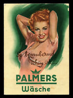 1940s Germany 3rd Reich Postcard German Hitler Era Advertising Sexy Racy Lady