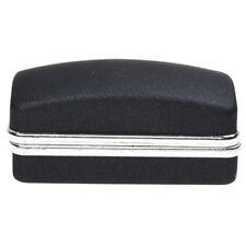 Black luxury cufflink cuff fake gift box cuboid link P2U8